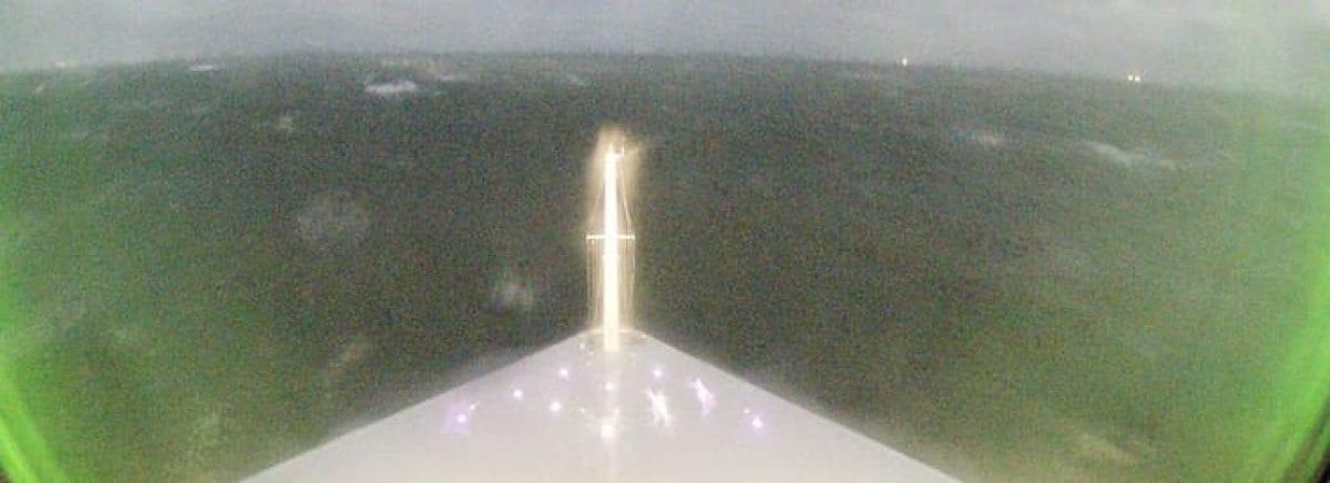 Sieben Meter Wellen und 50 Knoten Wind prallen auf AIDAprima / © AIDA Cruises