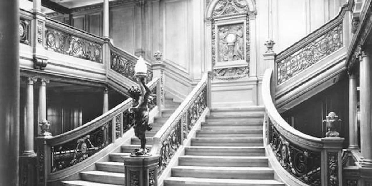 Titanic 1912: Atrium / © Blue Star Line