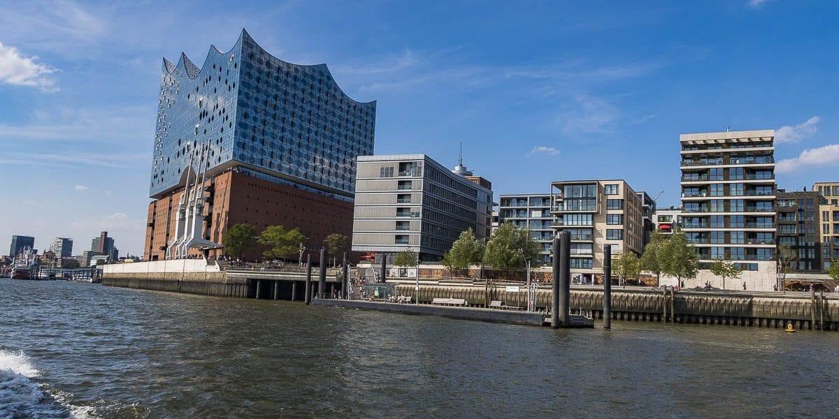 Die Elbphilarmonie in Hamburg