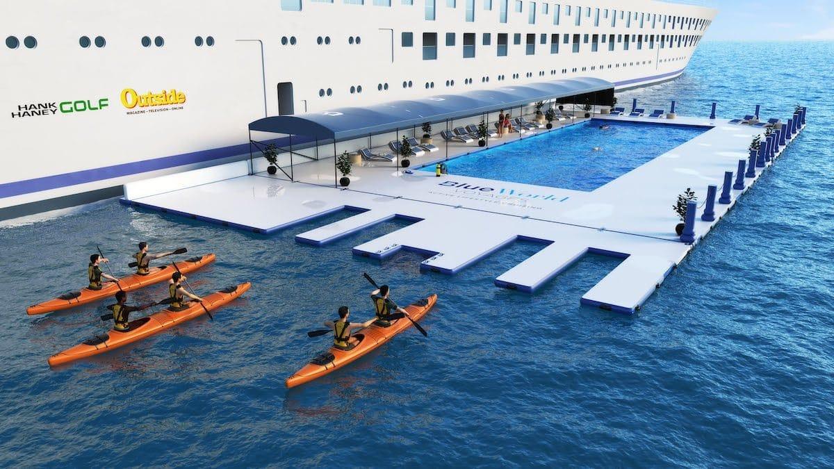 blue world one erstes luxus kreuzfahrtschiff mit