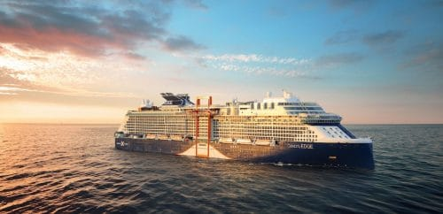 Celebrity APEX (Bild zeigt die baugleiche Celebrity Edge) / © Royal Caribbean