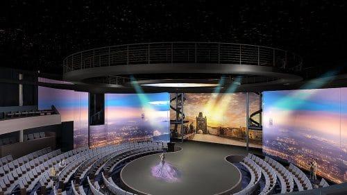 The Theatre auf Celebrity Edge © Celebrity Cruises