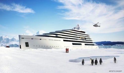 Crystal Endeavor: Neubau von den MV Werften für Crystal Cruises / © Crystal Cruises