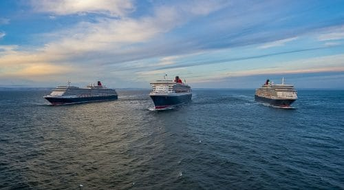 Das Cunard Programm 2020/2021 mit den Queens auf hoher See / © James Morgan für Cunard
