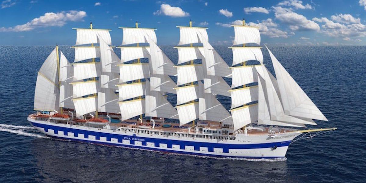 Das neue Segelschiff - Flying Clipper / © Star Clipper