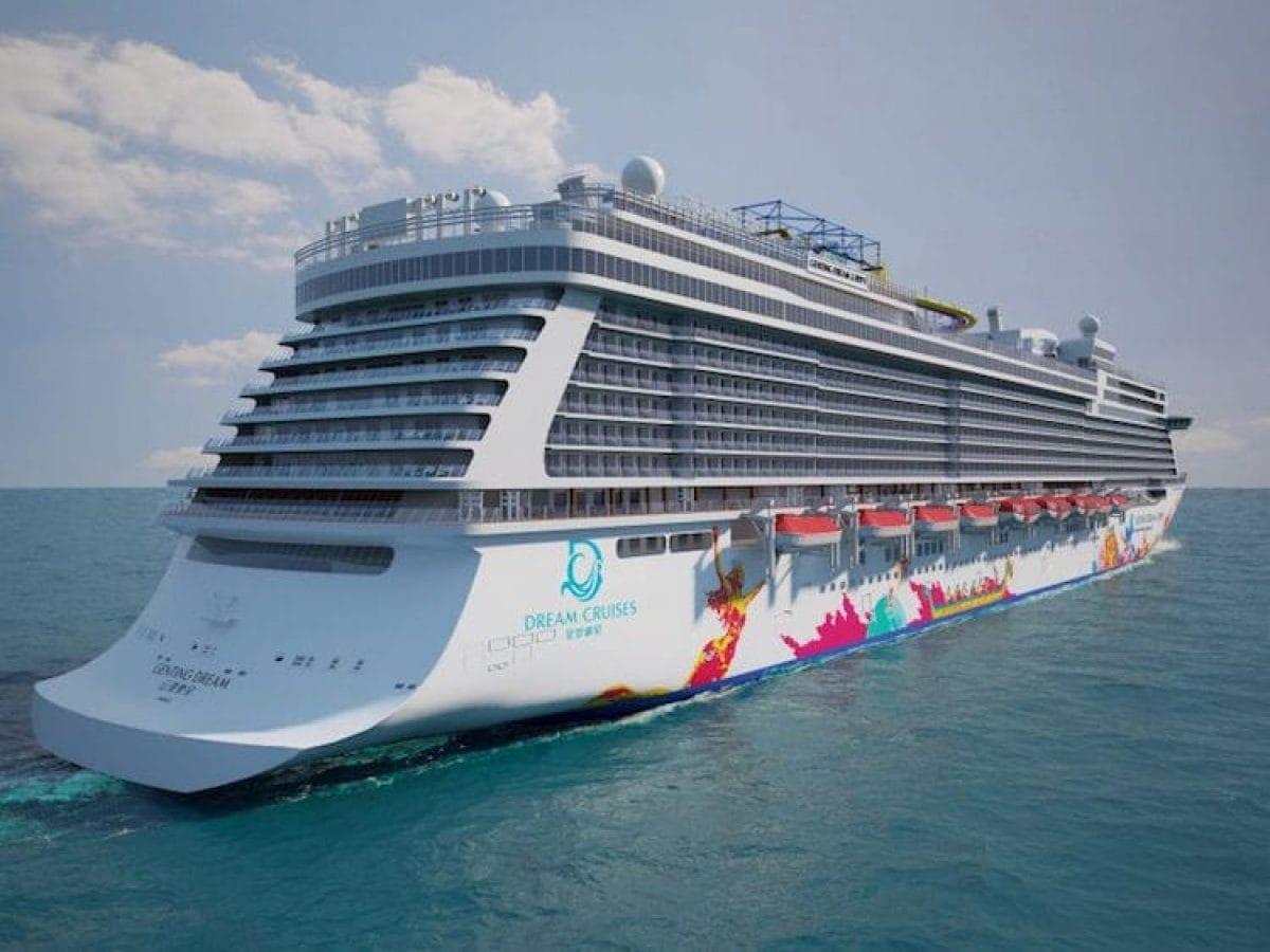 Das Heck der Genting Dream / © Dream Cruises