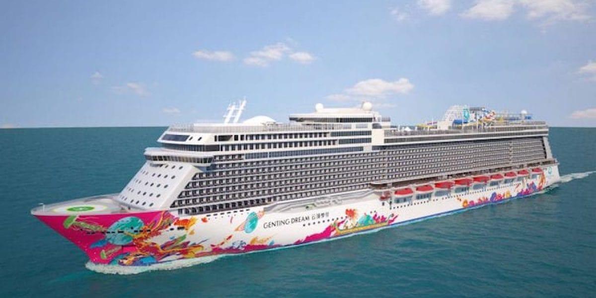 Emsüberführung der Genting Dream / © Dream Cruises