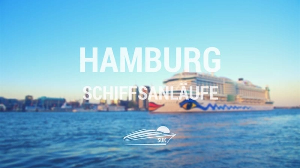 Hamburg Schiffsanläufe