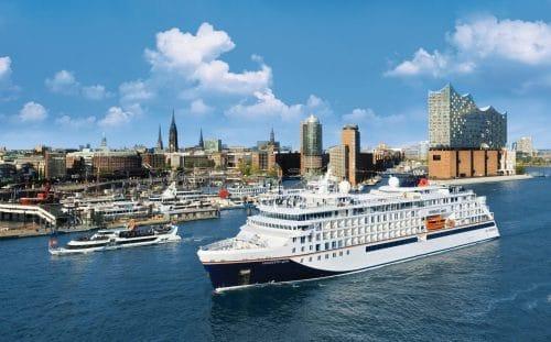 Hanseatic Spirit in Hamburg / © Hapag Lloyd Cruises
