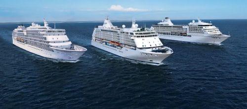 Aktuelle Regent Seven Seas Kreuzfahrtschiffe (Seven Seas Explorer ab 2016 fehlt) / © Regent Seven Seas