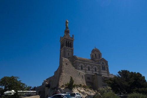 Die Cathedrale Notre-Dame de la Garde in Marseille