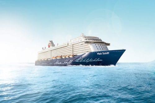 Mein Schiff 6 Taufe in Hamburg / © TUI Cruises