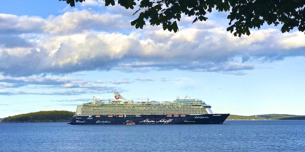 Mein Schiff 6 in Bar Harbor