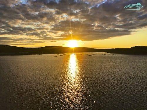 Sonnenuntergang Bar Harbor