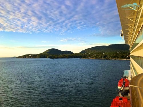 Sonnenaufgang Mein Schiff 6 Bar Harbor
