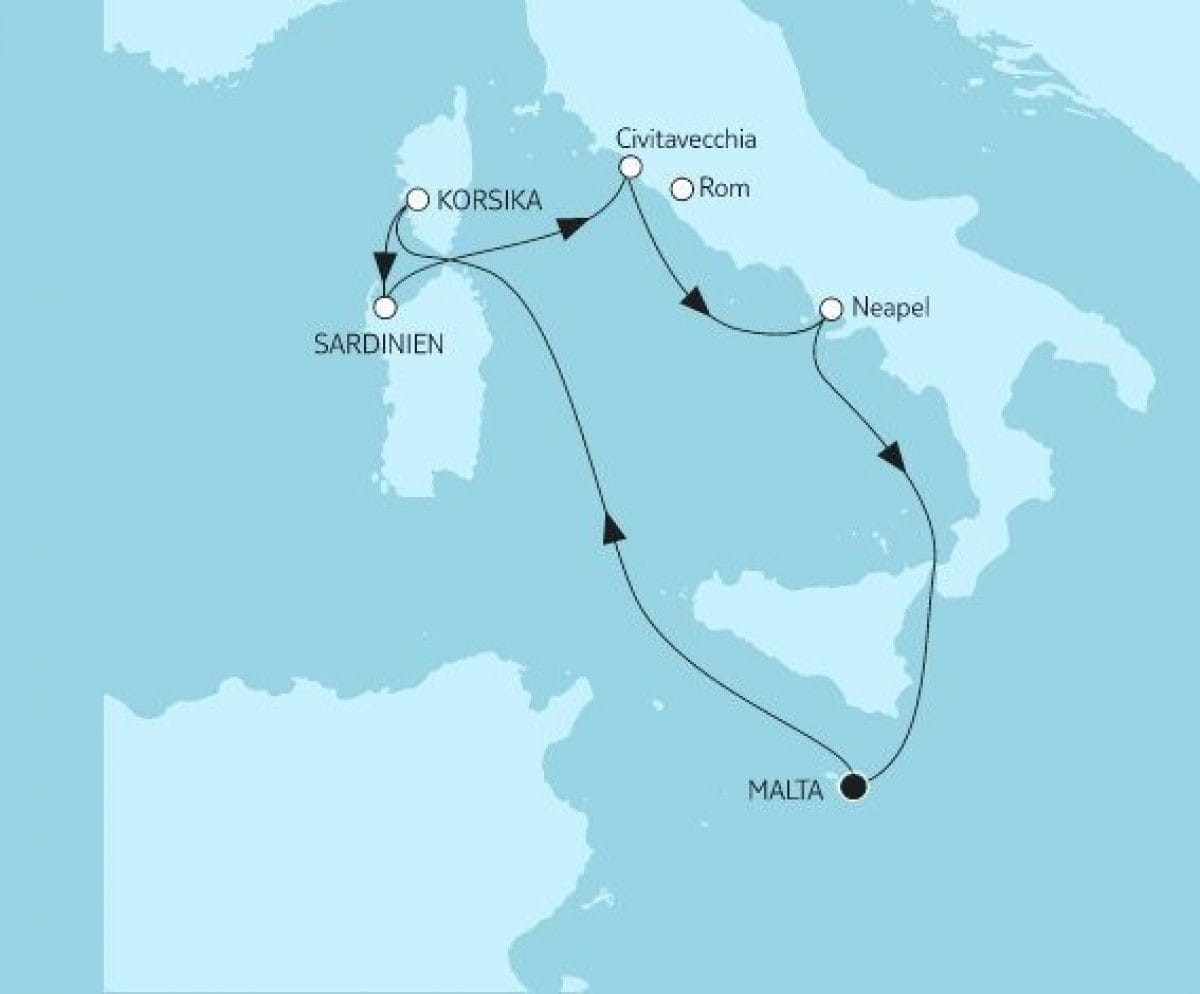 Mein Schiff Herz: Mittelmeer mit Italien I / © TUI Cruises