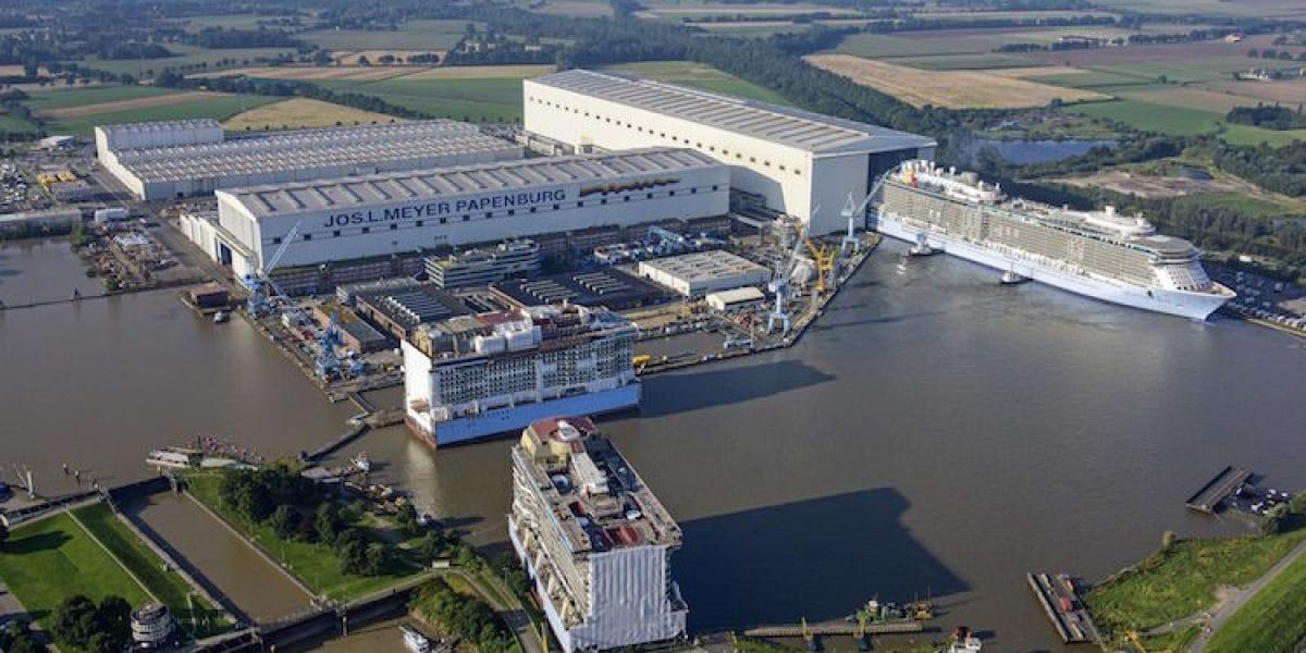 Meyer Werft in Papenburg/ © Meyer Werft