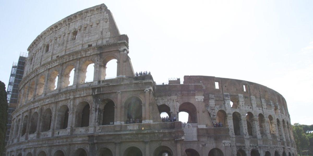 Das Colosseum in Rom - Erreichbar von Civitavecchia