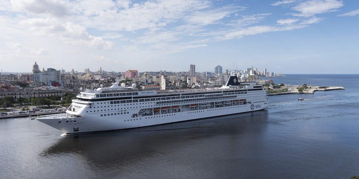 MSC Armonia arrives in Havana