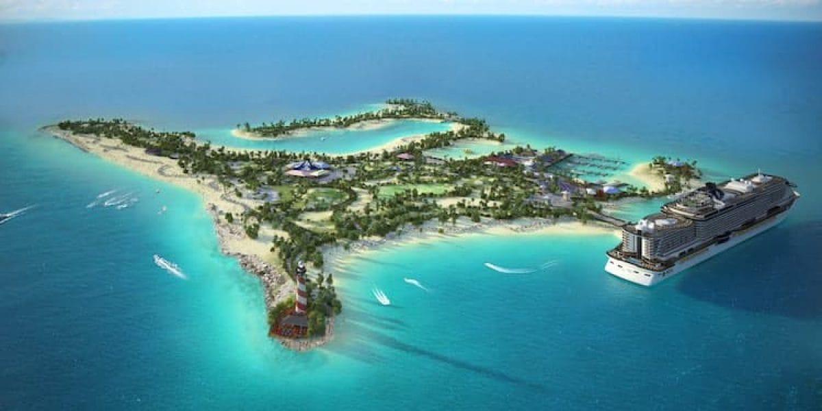MSC Kreuzfahrten erschafft sich eine eigene Insel auf den Bahamas: Ocean Cay MSC Marine Reserve / © MSC Crociere