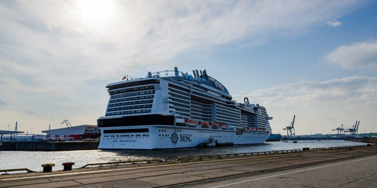 MSC Meraviglia Erstanlauf Hamburg
