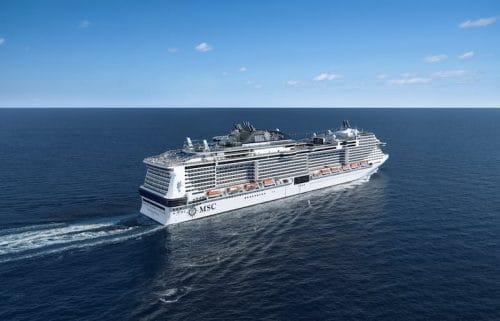 Neues Mann über Bord System auf der MSC Meraviglia / © MSC Cruises