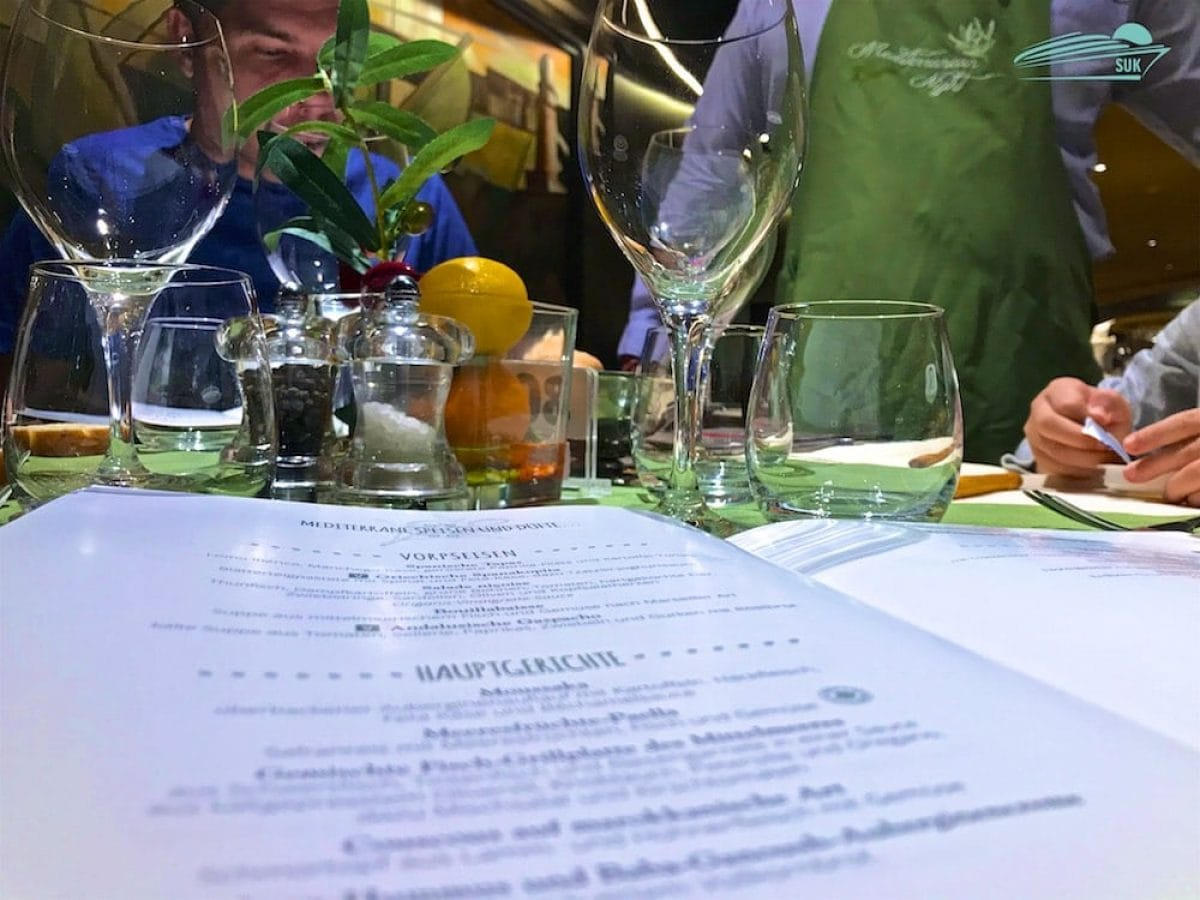 Abendessen Panorama Restaurant - Italienischer Abend
