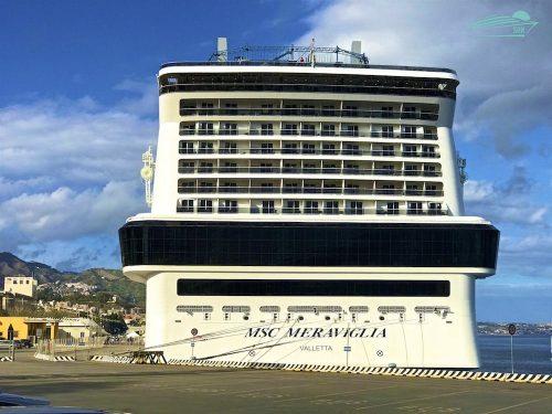 MSC Meraviglia in Messina
