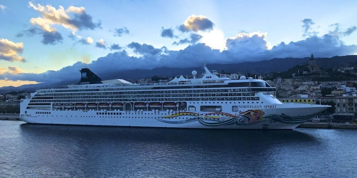 Norwegian Spirit in Messina