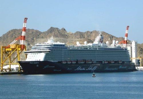 Mein Schiff 3 in Muscat