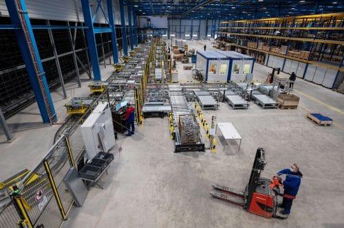 Das neue Logistikzentrum der Meyer Werft / ©Meyer Werft