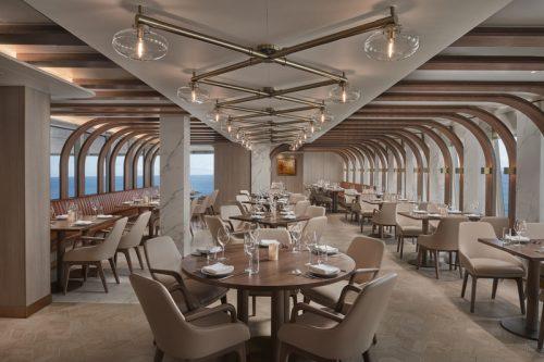 Szene Restaurant Scarpetta / © Norwegian Cruise Line