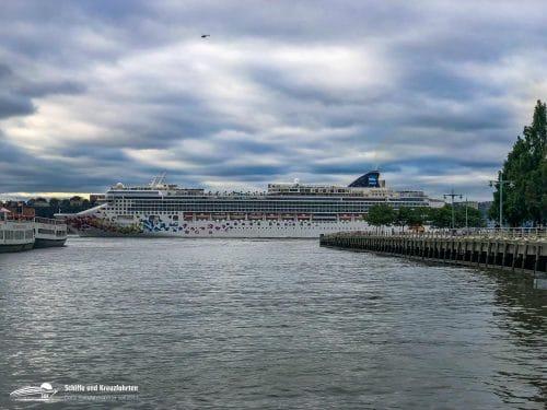 Norwegian Cruise Line in New York