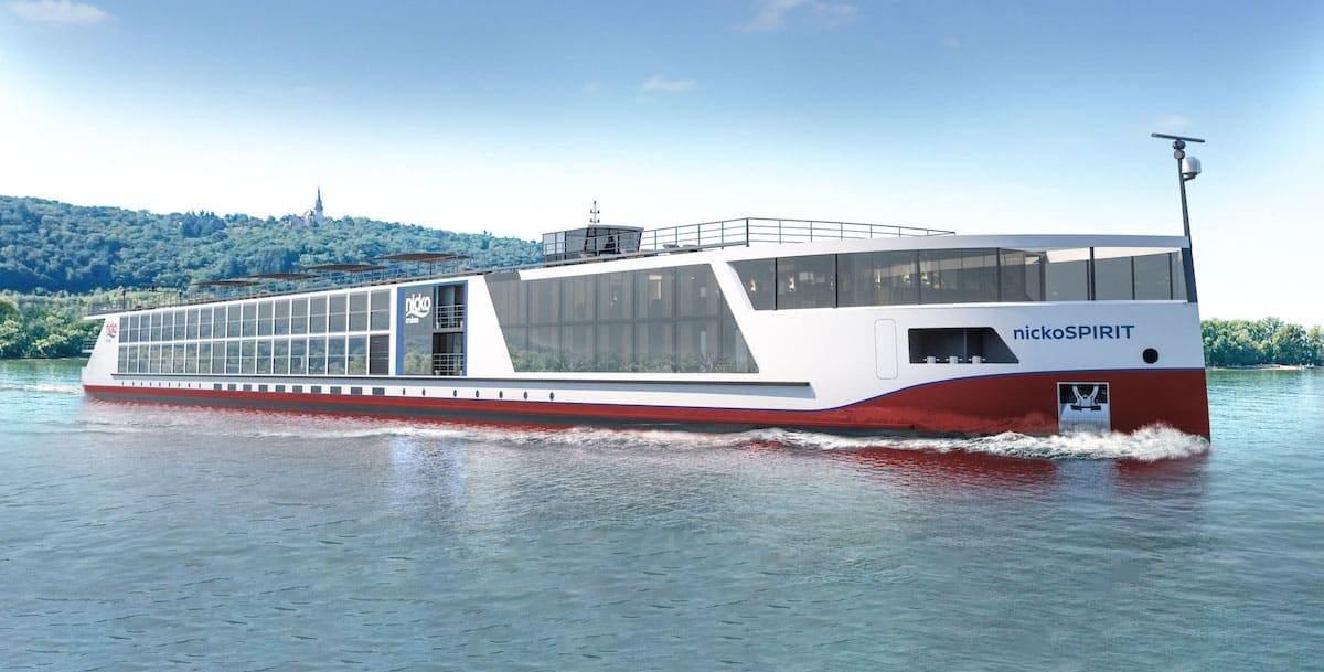 Nicko Spirit kommt deutlich später - Reisen abgesagt / © nicko cruises Schiffsreisen GmbH