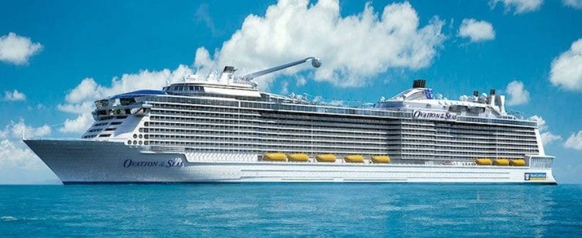 Ovation of the Seas ©Royal Caribbean International