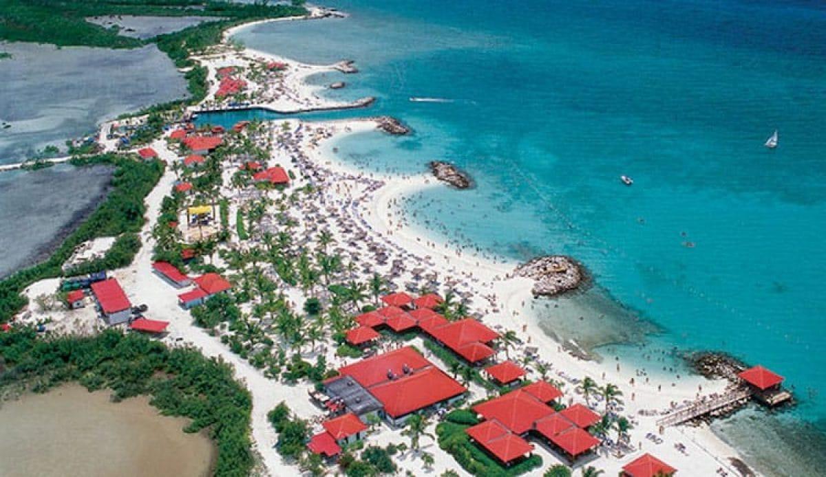 Luftaufnahme von Princess Cays auf den Bahamas / © Princess Cruises