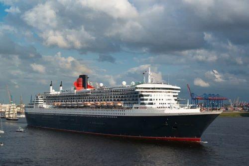 Queen Mary 2 in Hamburg / ©Cunard Line