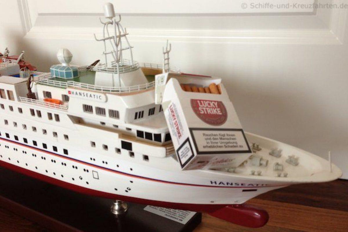 Kreuzfahrtschiffe - wo Rauchen?