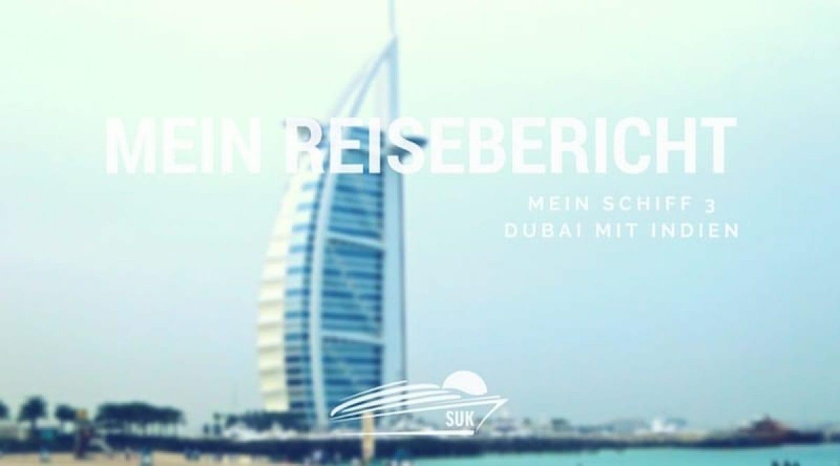 Reisebericht Mein Schiff 3 Dubai mit Indien
