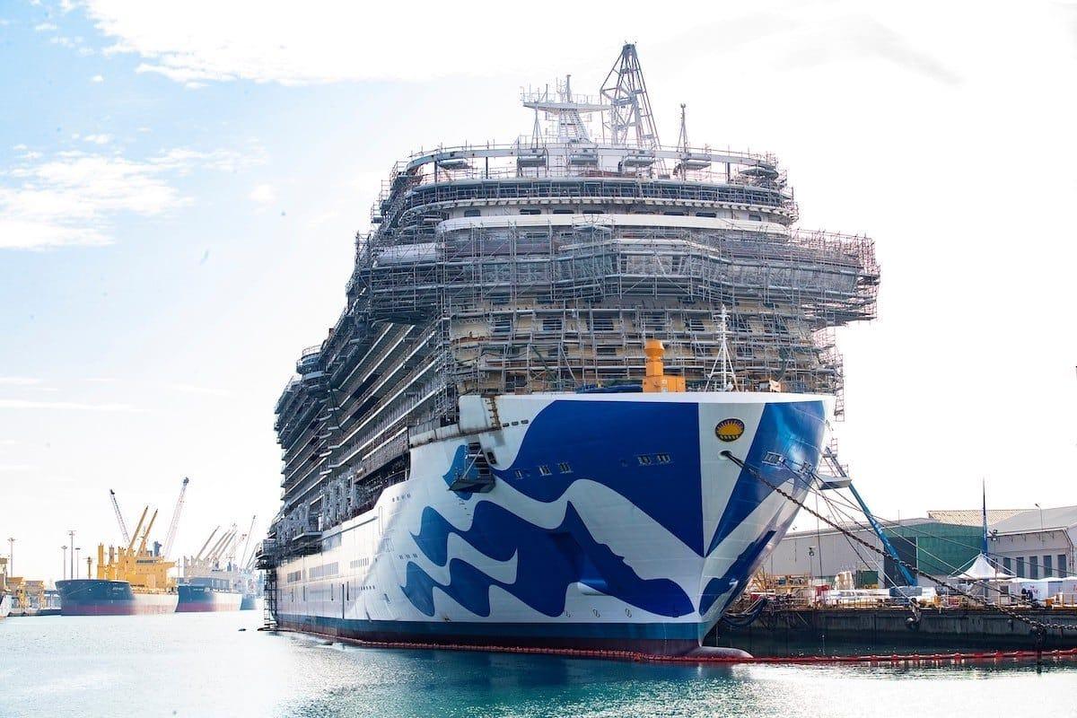 Sky Princess ist der nächste Neubau der für Princess in Dienst gestellt wird / © Princess Cruises