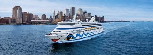 ESTA Antrag für USA Kreuzfahrten / Foto © AIDA Cruises