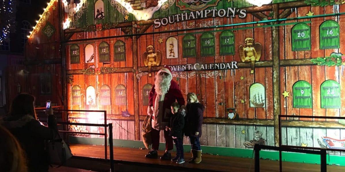 Nikolaus mit Kids