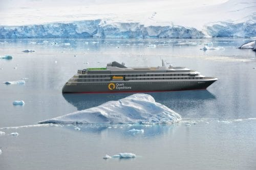 Aussenansicht der World Explorer / © Quark Expeditions